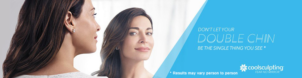 Don't Let the Double Chin Be the Single Thing You See - CoolSculpting